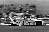 LE MANS, FRANCE: The Lancia Martini LC1 001002 of Rolf Stommelen, Teo Fabi and Michele Alboreto was entered in the Group 6 category at the 24 Hours of Le Mans on June 20, 1982, at Circuit de la Sarthe in Le Mans, France.