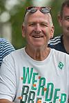05.01.2019, Trainingsgelaende Randburg Football Club, Johannesburg, RSA, TL Werder Bremen Johannesburg Tag 03<br /> <br /> im Bild / picture shows <br /> <br /> Jochen Steinert (li) (71) aus Walsrode bei Verden  Jahre lebt seit 45 Jahren in Johannesburg und kommt jaehrlich nach Deutschland um Spiele des SV Werder Bremen zu besuchen <br /> <br /> Foto © nordphoto / Kokenge