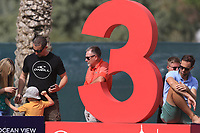 Waiting at the 3rd during Round 2 of the Omega Dubai Desert Classic, Emirates Golf Club, Dubai,  United Arab Emirates. 25/01/2019<br /> Picture: Golffile | Thos Caffrey<br /> <br /> <br /> All photo usage must carry mandatory copyright credit (© Golffile | Thos Caffrey)