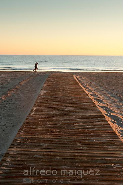 San Juan beach, Alicante, Spain