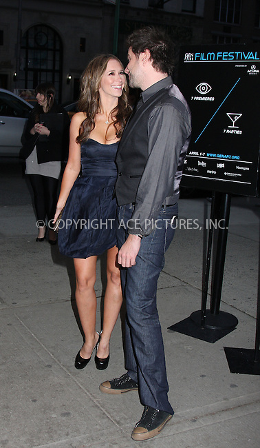 WWW.ACEPIXS.COM . . . . .  ....April 7 2009, New york City....Actress Jennifer Love Hewittt and Actor Jamie Kennedy at the premiere of 'Finding Bliss' at the 14th Annual Gen Art Film Festival Presented by Acura at the Visual Arts Theater on April 7, 2009 in New York City.....Please byline: AJ Sokalner - ACEPIXS.COM..... *** ***..Ace Pictures, Inc:  ..tel: (212) 243 8787..e-mail: info@acepixs.com..web: http://www.acepixs.com