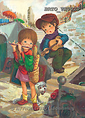 Alfredo, CHILDREN, paintings, BRTOVE0020,#K# Kinder, niños, nostalgisch, nostálgico, illustrations, pinturas