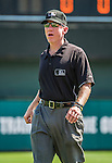 21 March 2015: MLB Umpire Lance Barksdale works a Spring Training game between the Washington Nationals and the Atlanta Braves at Champion Stadium at the ESPN Wide World of Sports Complex in Kissimmee, Florida. The Braves defeated the Nationals 5-2 in Grapefruit League play. Mandatory Credit: Ed Wolfstein Photo *** RAW (NEF) Image File Available ***