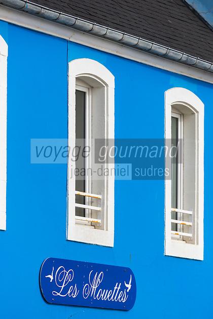 France, Bretagne, (29), Finistère, Presqu'île de Crozon, Crozon, Morgat:  détail habitat marin