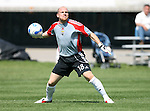 17 June 2007: Columbus's Bill Gaudette. The New England Revolution Reserves defeated the Columbus Crew Reserves 2-1 on the Gillette Stadium practice field in Foxboro, Massachusetts in a Major League Soccer Reserve Division game.