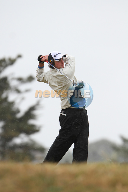 William Hanna (Kilkeel) on the 11th Tee, Day 2 at the East of Ireland Amateur Open Championship 2011 in Co.Louth Golf Club....(Photo credit should read Jenny Matthews www.newsfile.ie)....This Picture has been sent you under the conditions enclosed by:.Newsfile Ltd..The Studio,.Millmount Abbey,.Drogheda,.Co Meath..Ireland..Tel: +353(0)41-9871240.Fax: +353(0)41-9871260.GSM: +353(0)86-2500958.email: pictures@newsfile.ie.www.newsfile.ie.