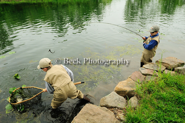 BRYCE AND AIDEN FORY IN FRESHWATER FLY FISHING