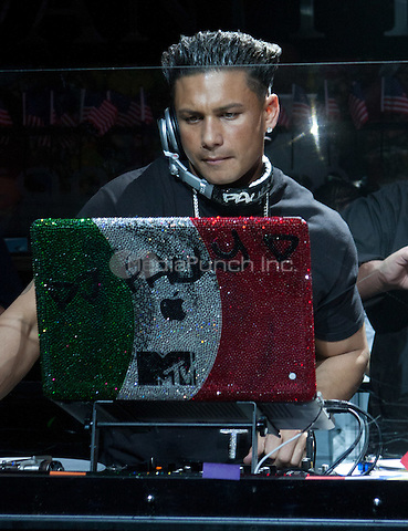 Pauly D pictured at Vanity at the Hard Rock Hotel in Las Vegas on February 18, 2011. Erik Kabik / MediaPunch.