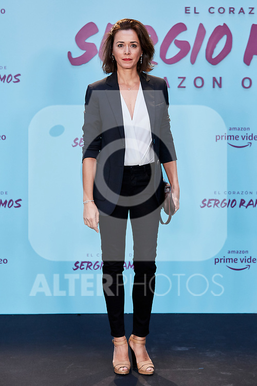 "Fanny Gautier attends to ""El Corazon De Sergio Ramos"" premiere at Reina Sofia Museum in Madrid, Spain. September 10, 2019. (ALTERPHOTOS/A. Perez Meca)"