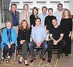 Larry Bryggman, Charles Kimbrough, Holley Fain, Peter Benson, Tracee Chimo, Rich Sommer, Carol Kane, Angela Paton, Jessica Hecht, Jim Parsons & Morgan Spector.attending the Meet & Greet for the Roundabout Theatre Company's Broadway Production of 'Harvey' at their Rehearsal Studios in New York City. 4/20/2012 © Walter McBride/WM Photography .