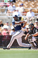 March 11,2009: Lorenzo Cain (88) of the Milwaukee Brewers at Camelback Ranch in Glendale, AZ.  Photo by: Chris Proctor/Four Seam Images