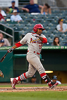 May 1 2010: Francisco Rivera (50) of the Palm Beach Cardinals during a game vs. the Jupiter Hammerheads at Roger Dean Stadium in Jupiter, Florida. Palm Beach, the Florida State League High-A affiliate of the St. Louis Cardnials, won the game against Jupiter, affiliate of the Florida MArlins, by the score of 5-4  Photo By Scott Jontes/Four Seam Images