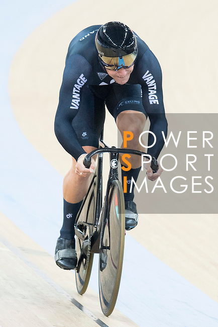 Edward Dawkins of the team of New Zealand competes in Men's Team Sprint - Qualifying match as part of the 2017 UCI Track Cycling World Championships on 12 April 2017, in Hong Kong Velodrome, Hong Kong, China. Photo by Victor Fraile / Power Sport Images