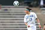 24 August 2012: Duke's Kim DeCesare. The Duke University Blue Devils defeated the University of Montreal Caribins 4-1 at Fetzer Field in Chapel Hill, North Carolina in an international women's collegiate friendly game.