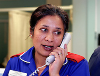Nurse in Accident & Emergency Department.