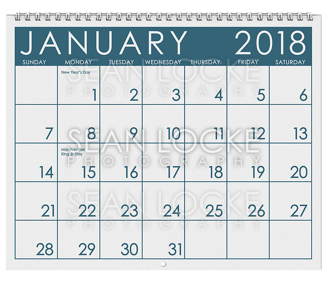 12 image series of months of the year in a 3d rendered calendar.  January, February, March, April, May, June, July, August, September, October, November, December