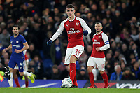 Granit  Xhaka of Arsenal in action during Chelsea vs Arsenal, Caraboa Cup Football at Stamford Bridge on 10th January 2018