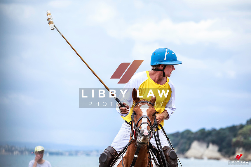 2017 NZL-Takapuna Beach Polo. Gould Reserve. Takapuna. Auckland. Thursday 14 December. Copyright Photo: Libby Law Photography