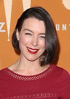 HOLLYWOOD, CA - DECEMBER 3: Olivia Williams, at the Season 2 premiere of Counterpart at The Arclight Hollywood in Hollywood, California on December 3, 2018. <br /> CAP/MPIFS<br /> &copy;MPIFS/Capital Pictures
