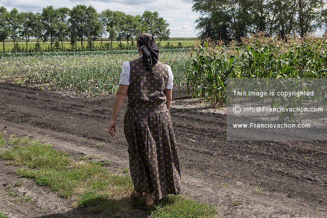 New Rosedale Hutterites colony | Stock photos by Francis Vachon