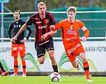 ***BETALBILD***  <br /> V&auml;llingby 2015-05-24 Fotboll Superettan IF Brommapojkarna - Varbergs BoIS :  <br /> Varbergs Anton Liljenb&auml;ck i kamp om bollen med Brommapojkarnas Isak Nyl&eacute;n under matchen mellan IF Brommapojkarna och Varbergs BoIS <br /> (Foto: Kenta J&ouml;nsson) Nyckelord:  BP Brommapojkarna IFB Grimsta Varberg BoIS