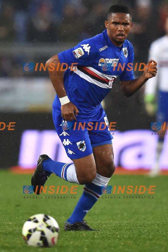 Samuel Eto'o Sampdoria <br /> Roma 16-03-2015 Stadio Olimpico Football Calcio Serie A 2014/2015 AS Roma - Sampdoria . Foto Andrea Staccioli / Insidefoto