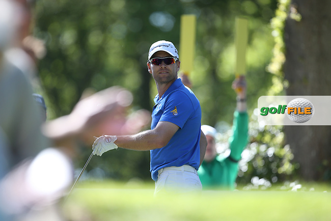 Trevor Fisher JNR (RSA) during Round One of the 2015 BMW PGA Championship over the West Course at Wentworth, Virginia Water, London. 21/05/2015Picture David Lloyd, www.golffile.ie.
