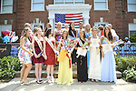 Miss Wantagh Pageant ceremony, a long-time Independence Day tradition on Long Island, is Wednesday, July 4, 2012, at Wantagh School, New York, USA. Hailey Orgass, Miss Wantagh 2012, was crowned by Kara Arena, Miss Wantagh 2011. First runner up was Allysa Kelly, 2nd runner up was Paulina Renda, and 3rd runner up was Allison Hopkins. Since 1956, the Miss Wantagh Pageant, which is not a beauty pageant, has crowned a high school student based mainly on academic excellence and community service.