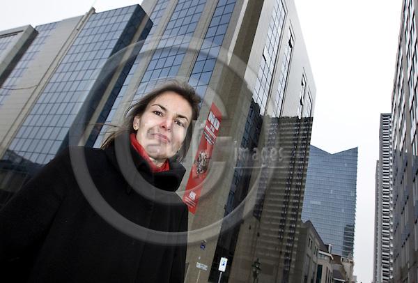 BRUSSELS  -  BELGIUM  - 23 FEBRUARY 2011 --  Veronica NILSSON, Special Advisor at the European Trade Union Confederation (ETUC). -- PHOTO: Juha ROININEN / EUP-Images