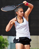 August 9, 2014, Netherlands, Rotterdam, TV Victoria, Tennis, National Junior Championships, NJK,  Tessa van de Ploeg (NED)<br /> Photo: Tennisimages/Henk Koster