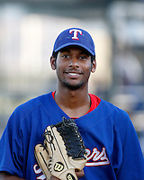 Ruben Sierra Jr ---  AZL Rangers - 2009 Arizona League.Photo by:  Bill Mitchell/Four Seam Images