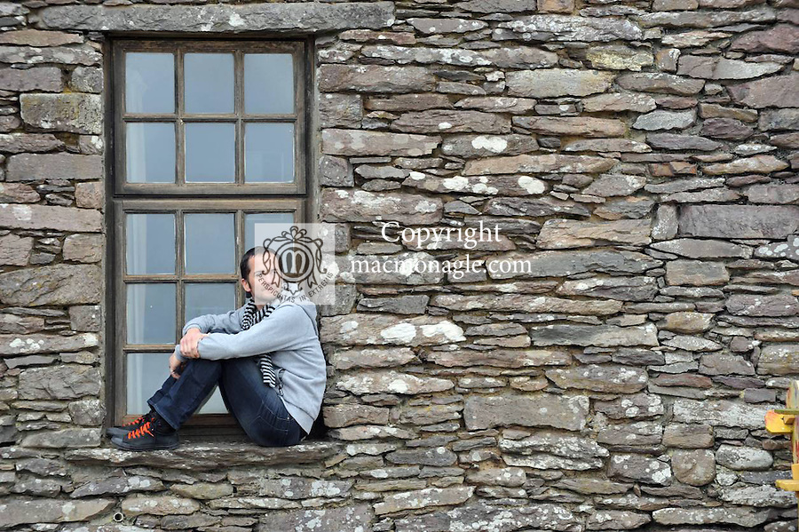 Artist Ross Stewart pictured in Cill Riallaigh. (0864040611).Picture by Don MacMonagle