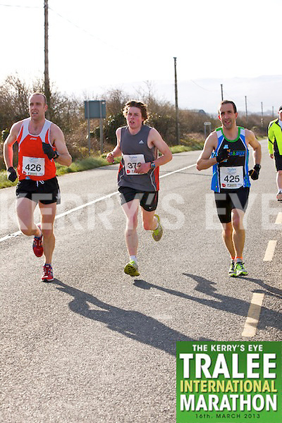 0426 Rory Mooney and 0425 Peter Mooney  who took part in the Kerry's Eye, Tralee International Marathon on Saturday March 16th 2013.