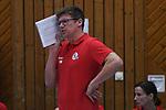 09.03.2019,  Lueneburg GER, VBL, SVG Lueneburg vs Berlin Recydling Volleys im Bild Trainer Stefan Huebner (Hübner Lueneburg) Foto © nordphoto / Witke