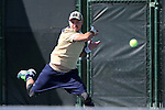 23 April 2015: Billy Pecor. The Notre Dame University Fighting Irish played the Georgia Tech University Ramblin' Wreck at the Cary Tennis Park in Cary, North Carolina in a 2015 NCAA Division I Men's Tennis and Atlantic Coast Conference Tournament First Round match. Georgia Tech won the match 4-0.