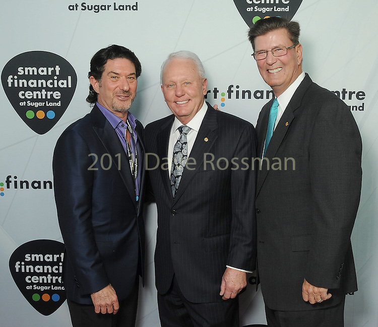 at the grand-opening reception at the Smart Financial Centre in Sugar Land Saturday Jan. 14, 2017.(Dave Rossman photo)