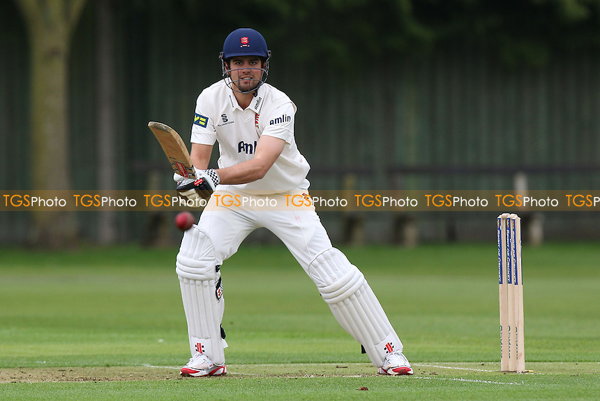 Alastair Cook hits four runs square of the wicket for Essex - Cambridge MCCU vs Essex CCC - Pre-Season Friendly Cricket Match at Fenners Ground, Cambridge - 07/04/14 - MANDATORY CREDIT: Gavin Ellis/TGSPHOTO - Self billing applies where appropriate - 0845 094 6026 - contact@tgsphoto.co.uk - NO UNPAID USE