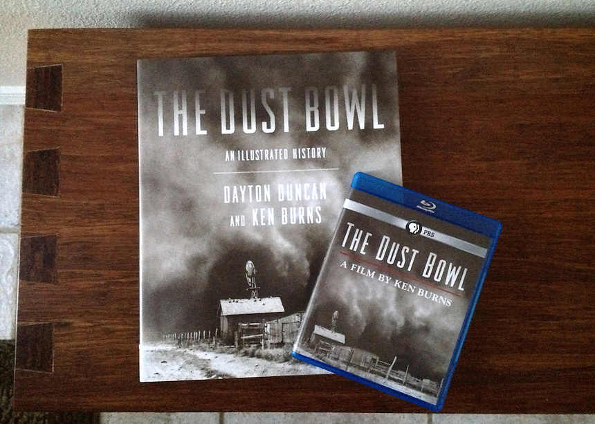 Ken Burns and Dayton Duncan'sThe Dust Bowl, An Illustrated Histroy Book and The Dust Bowl Film on Blu-ray