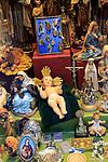 Angel Perez Nephews shop selling religious items, Calle Postas, Madrid city centre, Spain