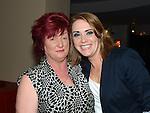 Ciara Brogan celebrating her 30th birthday with friend Ann Buckley in Brú. Photo:Colin Bell/pressphotos.ie