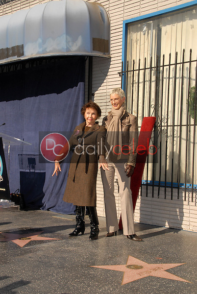 Leslie Caron and Patricia Kelly<br />