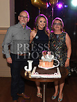 Justine McGuirk celebrating her 21st birthday in the Thatch with her parents Joe and Catherine. Photo:Colin Bell/pressphotos.ie