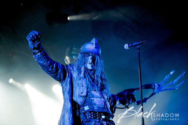 Rob Zombie performing at Festival Hall, Melbourne, 3 March 2011
