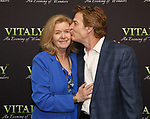 Jordan Baker and Kevin Kilner attends the Off-Broadway Opening Night arrivals for 'Vitaly: An Evening of Wonders' at the Westside Theatre on June 20, 2018 in New York City.