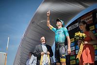 Jakob Fuglsang (DEN/Astana)<br /> <br /> 69th Crit&eacute;rium du Dauphin&eacute; 2017<br /> Stage 8: Albertville &gt; Plateau de Solaison (115km)