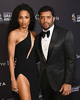 09 February 2019 - Beverly Hills, California - Ciara, Russell Wilson. The Recording Academy And Clive Davis' 2019 Pre-GRAMMY Gala held at the Beverly Hilton Hotel.  <br /> CAP/ADM/BT<br /> &copy;BT/ADM/Capital Pictures