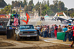 Hot rod truck pulls, Friday at the 80th Amador County Fair, Plymouth, Calif..<br /> .<br /> .<br /> .<br /> #AmadorCountyFair, #1SmallCountyFair, #PlymouthCalifornia, #TourAmador, #VisitAmador