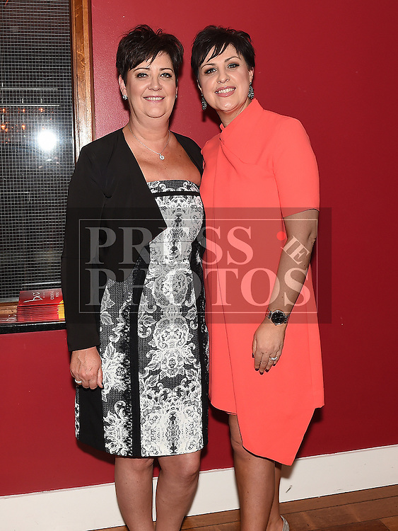 Brenda Murtagh celebrating her 50th birthday in Bru with her sister Ailish. Photo:Colin Bell/pressphotos.ie
