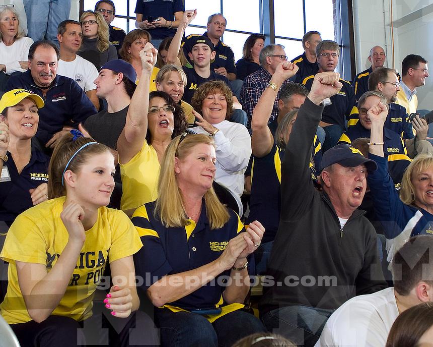 University of Michigan (#8) women's water polo team 6-5 loss to #4 UCLA at Canham Natatorium in Ann Arbor, MI, on January 23, 2011.