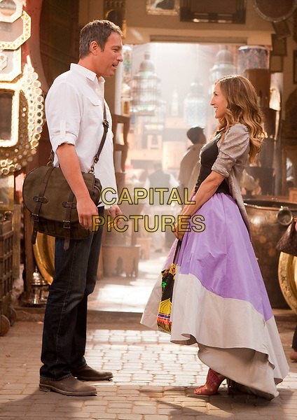 Sex and the City 2 (2010) <br /> Sarah Jessica Parker &amp; John Corbett <br /> *Filmstill - Editorial Use Only*<br /> CAP/MFS<br /> Image supplied by Capital Pictures